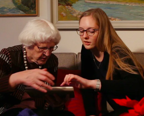 Hjælperne - unge og gamle i Århus