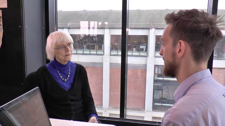 Jeannette Cold interviewer Emil Vincenz