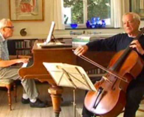 Mogens Kilian spiller kammermusik med Georg Cold