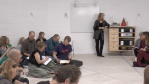 Anne Sophie Jørgensen i Diamantsalen i Tigerens Rede