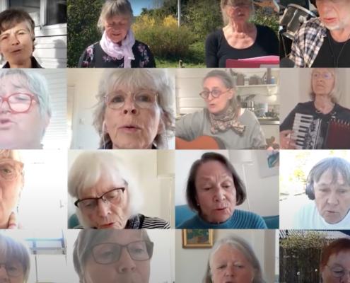 Fællessang med Bedsteforældrenes Klimaaktion