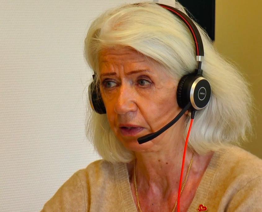 Vibeke Lyngby - Telefonrådgiver SIND